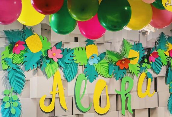 Тематична декорация за рожден ден